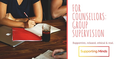 For Counsellors: Group Supervision tickets