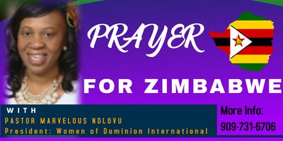 Prayer for Zimbabwe