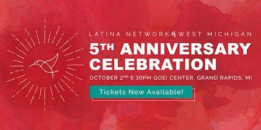 Latina Network of West Michigan 5 Year Anniversary Celebration