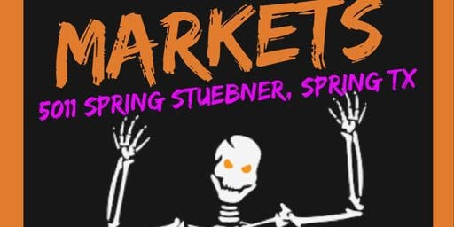 Halloween Vendor Market