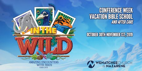In the Wild! - Vacation Bible School 2019 tickets