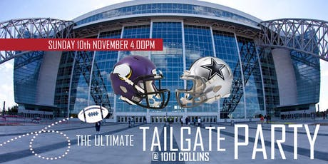 The Ultimate Tailgate Party (Vikings @ Cowboys) tickets