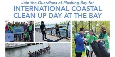 International Coastal Clean Up Day at the Bay
