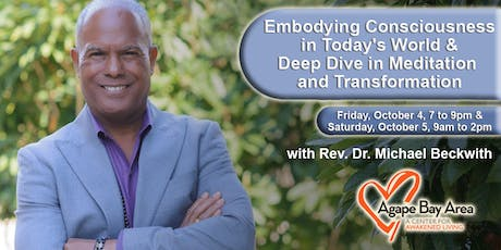 Rev Dr. Michael Bernard Beckwith in Oakland Oct. 4th and 5th tickets
