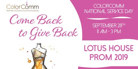 ColorComm Miami Hosts National Day of Service tickets