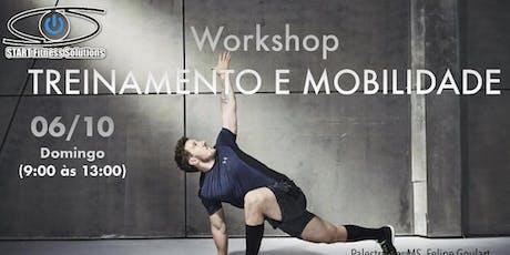 Workshop Treinamento e Mobilidade ingressos
