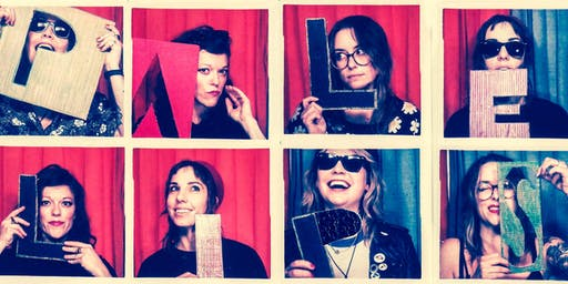 Pale Lips (CA) with The Gala, Loretta, & Kathy Snax