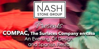 COMPAC, The Surfaces Company en casa! An Evening of Design & Spanish Fiesta