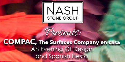 COMPAC, The Surfaces Company en casa! An Evening of Design & Spanish Fiesta