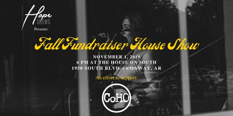 Fall Fundraiser House Show tickets