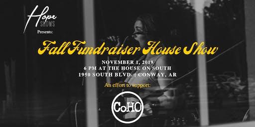 Fall Fundraiser House Show
