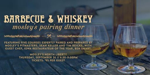 Barbecue & Whiskey Pairing Dinner