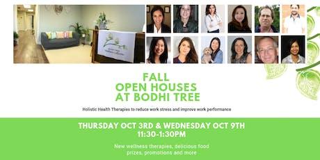 Thurs Oct 3rd - Fall Open House at Bodhi Tree Wellness  tickets