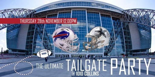 The Ultimate Tailgate Party (Bills @ Cowboys)