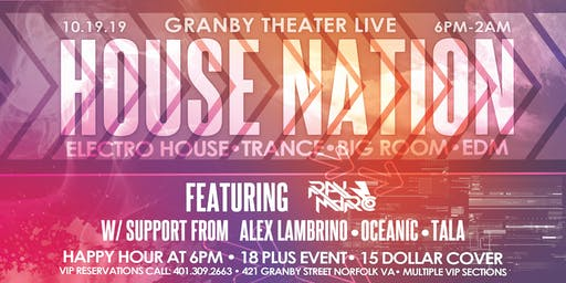 The Return Of House Nation | Granby Theater Live
