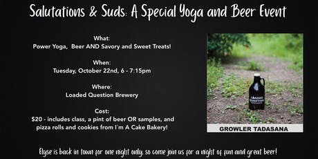 Salutations & Suds: A Special Yoga & Beer Event! tickets