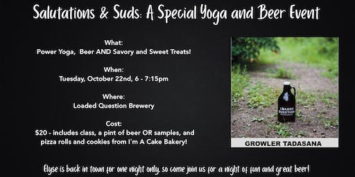 Salutations & Suds: A Special Yoga & Beer Event!