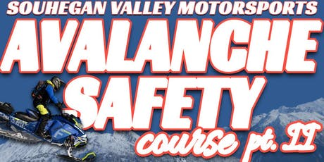 AVALANCHE SAFETY COURSE @ SVM tickets