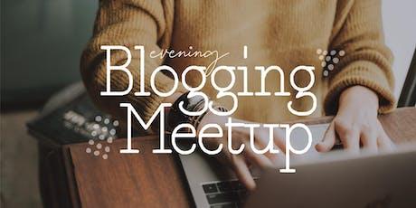 Blogging Meetup tickets