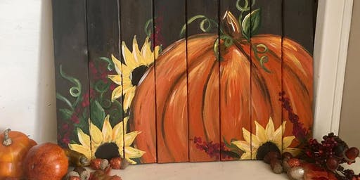 Pizza n Paint - PUMPKIN #2
