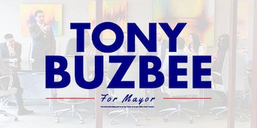 Tony Buzbee speaks to Lulac Community Affairs Breakfast