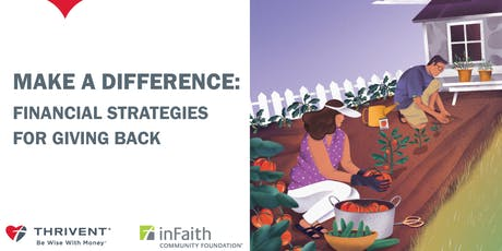 Make A Difference - Financial Strategies for Giving Back (Portland) tickets