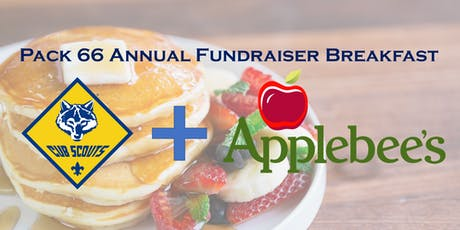 Pack 66 - Annual Applebees Fundraiser Breakfast tickets