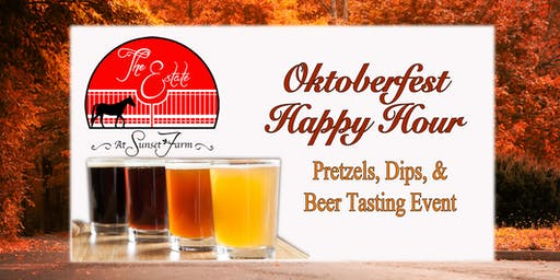 Oktoberfest Beer & Pretzel Happy Hour at The Estate