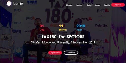 TAX180: THE SECTORS!!!