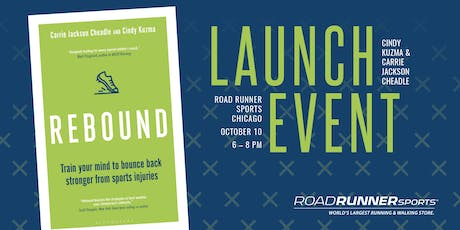 """""""Rebound"""" Book Launch with Cindy Kuzma & Carrie Cheadle  tickets"""