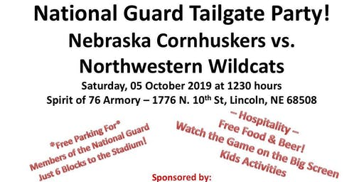 Nebraska National Guard Tailgate Party!