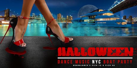 The NYC #1 Halloween Dance Music Night Boat Party Yacht Cruise tickets