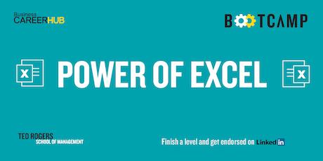 Power of Excel Level 3 - BTM tickets