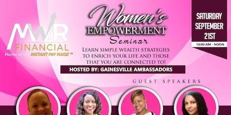 Women's Empowerment Seminar tickets