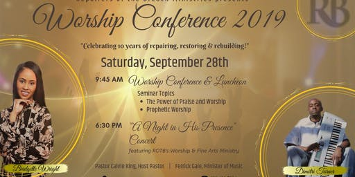 Worship Conference 2019