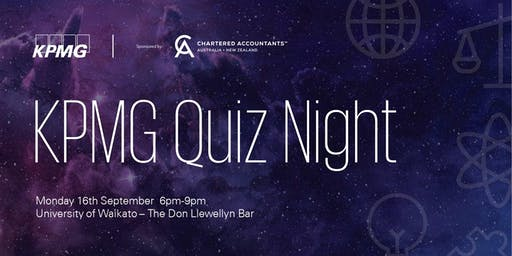 KPMG Student Quiz Night 2019 - Waikato