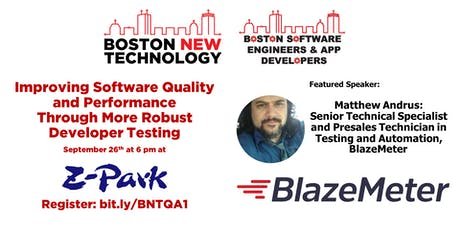 Improving Software Quality and Performance Through More Robust Developer Testing tickets