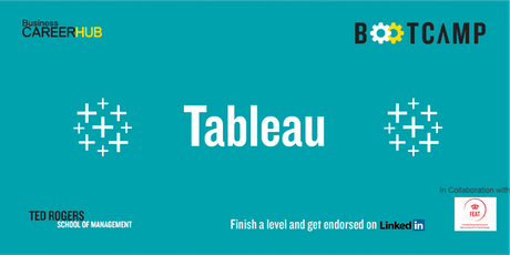 Tableau Bootcamp: Level 3 tickets
