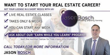 Looking to Start your Real Estate Career? tickets