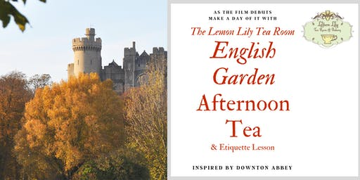 English Garden Afternoon Tea