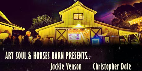 Jackie Venson & Christopher Dale @ Art Soul & Horses Barn Concert tickets