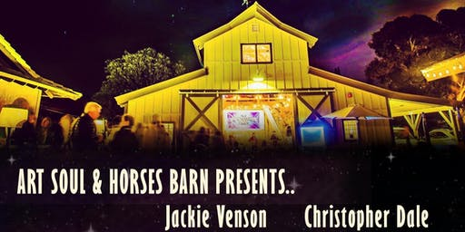 Jackie Venson & Christopher Dale @ Art Soul & Horses Barn Concert