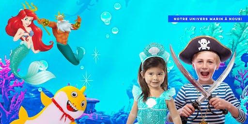 Un party sous l'océan