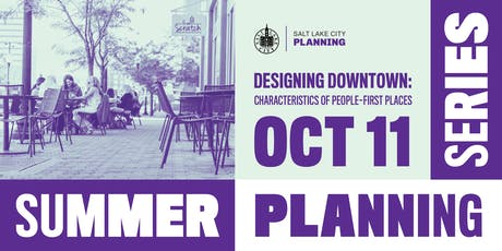 Summer Planning Series // Designing Downtown tickets