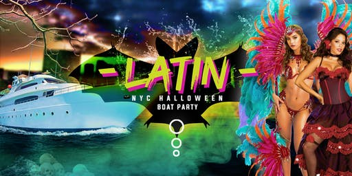 Halloween #1 Official Latina Boat Party around Manhattan Yacht Cruise: Friday Night