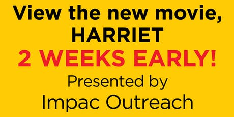 Private Screening of Harriet hosted by IMPAC Outreach tickets
