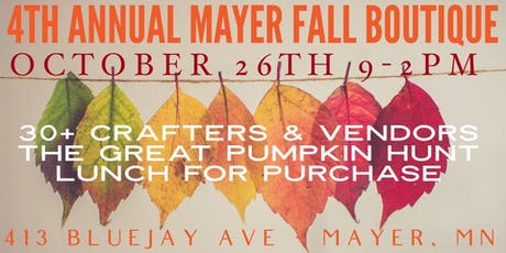 4th Annual Mayer Fall Boutique tickets