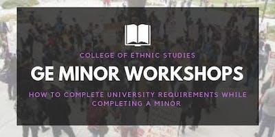 GE Minor Workshop