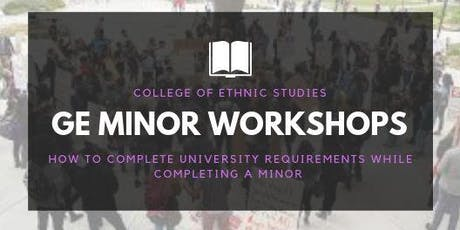 GE Minor Workshop tickets