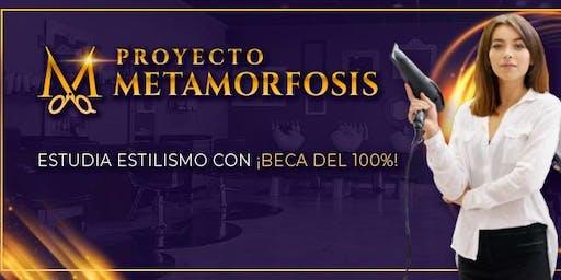 Estudia Estilismo con BECA DEL 100% - Proyecto Metamorfosis